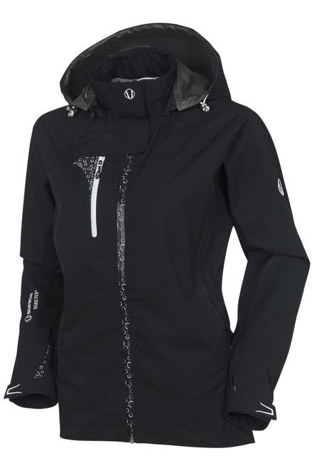 Chloe Gore-Tex® Waterproof Coat with Hood S-2156-black Image 1