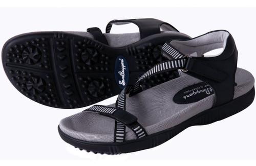 Galia Black Golf Sandal SB-GALIABLACK Image 3