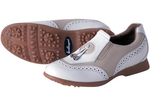 Madison II Almond Women's Golf Shoe SB-MADIIALM Image 3