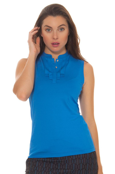 Skylar Pleated Golf Sleeveless TL-GF1024-4118-blue Image 3