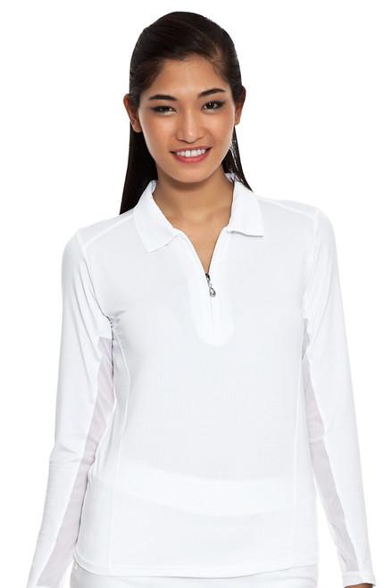 SolTek Solid Zip Sun Shirt SANS-900403 Image 3