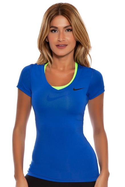 Pro V-Neck Short Sleeve Shirt N-589370-481 Image 3