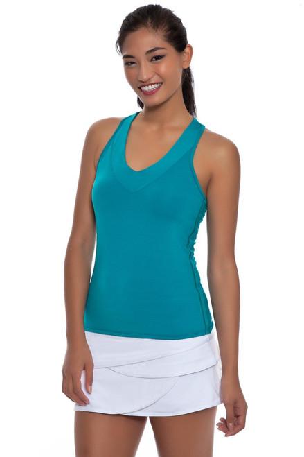 Long Scallop Core Tennis Skirt LIL-CB86-110 Image 5