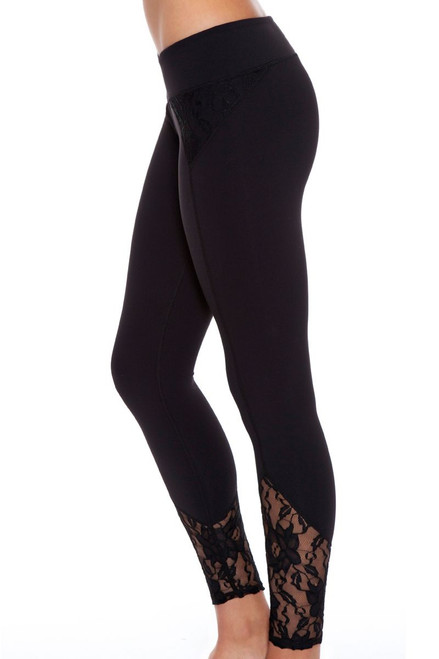 Demi Lace Workout Legging CA-50201 Image 4