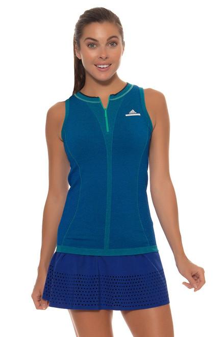 Adidas Stella McCartney Royal Blue Barricade Tennis Skirt - Image 1