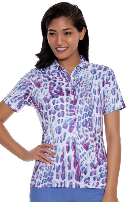 GGBlue Women's Prince of Persia Erica Golf Polo Shirt GG-E805-1554 Image 4