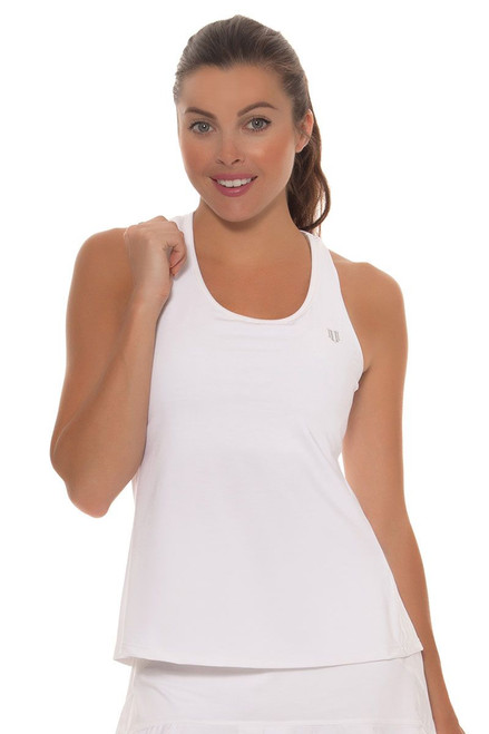 Eleven Women's Camilla Rose Solid Raceday Tennis Tank E-CO456S Image 4