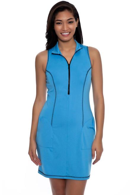 Kevan Hall Sport  Mock Zip Scuba Golf Dress KH-D14-2 Image 2