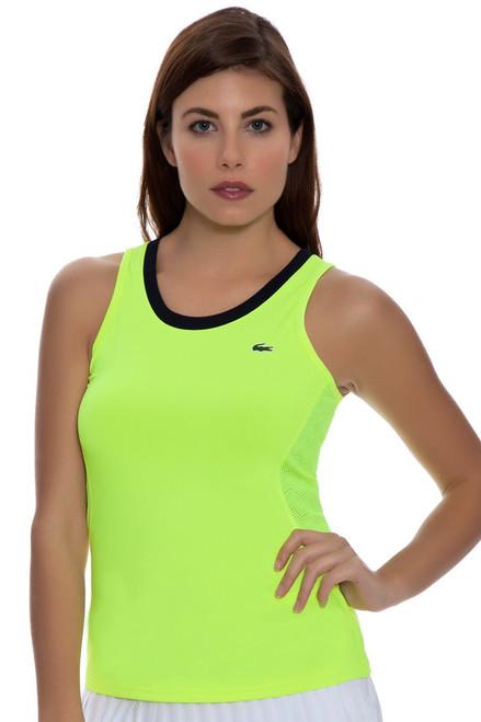 Lacoste Women's Neon Mesh Back Tennis Tank LC-TF5967-51 Image 4
