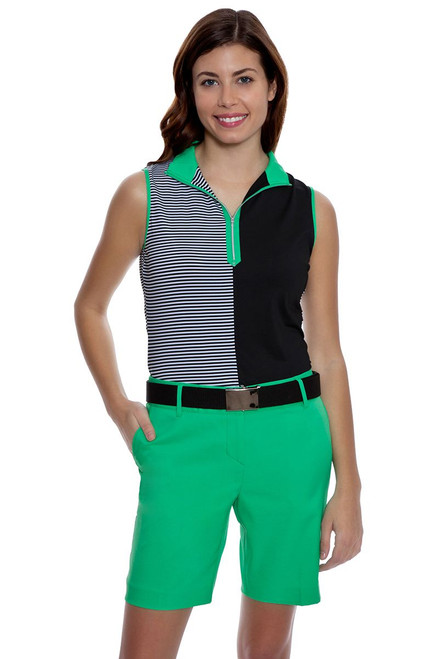 Annika Women's Green Play Sage Golf Short AK-LAB07002-WMY