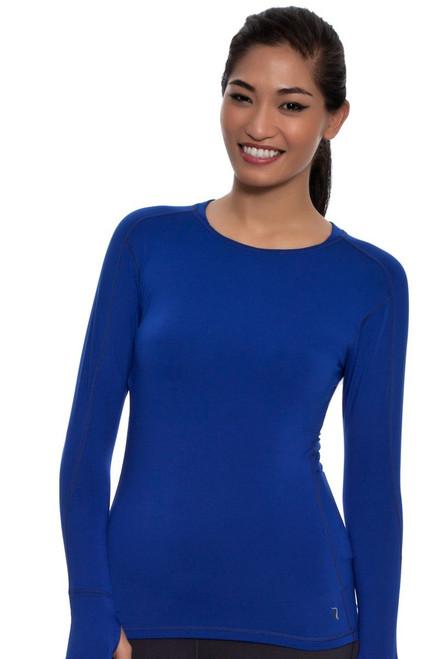 Katie K Women's  Active  Rushhour Long Sleeve Shirt KK-RHT0215O Image 4