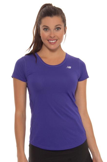 New Balance Women's Bayside Accelerate Tennis Shirt NB-WT53141-547 Image 4