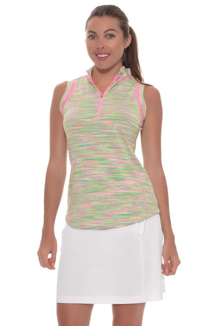 EP Sport Women's Coachella Billboard Easy Pull On Golf Skort ES-3131SGA-Coachella Image 4