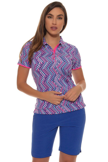 EP Pro Women's Sugar Rush Reflective Piped Golf Short EP-8621KB Image 4
