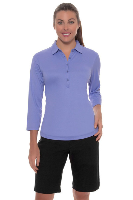 EP Pro Women's Basics Bi-Stretch Pull On Golf Short EP-8153 Image 4