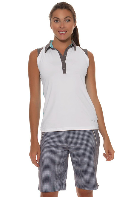 Annika Women's Sky Above Dallis Print Golf Short