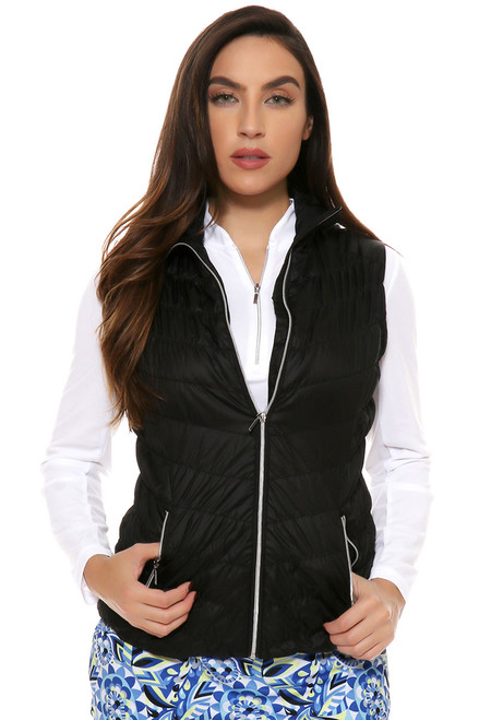 GGblue Black Diamond Golf Vest - V855