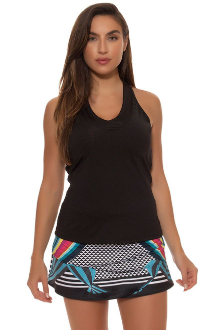 Lucky In Love Women's Print Medley Lady Scallop Tennis Skirt LIL-CB185-361955 Image 4