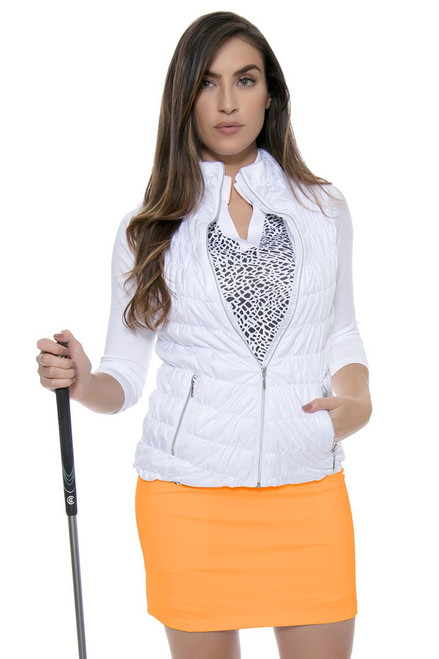 Jofit Women's Sonoma Sport Mina Tangerine Pull On Golf
