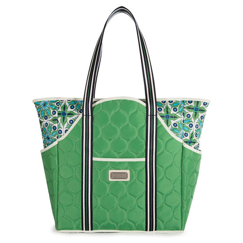 Cinda B Women's Verde Bonita Tennis Court Bag