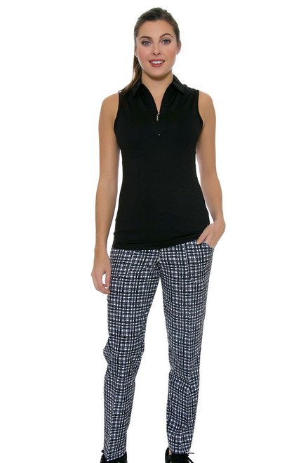 Jofit Women's Barossa Sport Belted Cropped Golf Pants JF-GB510-710 Image 1