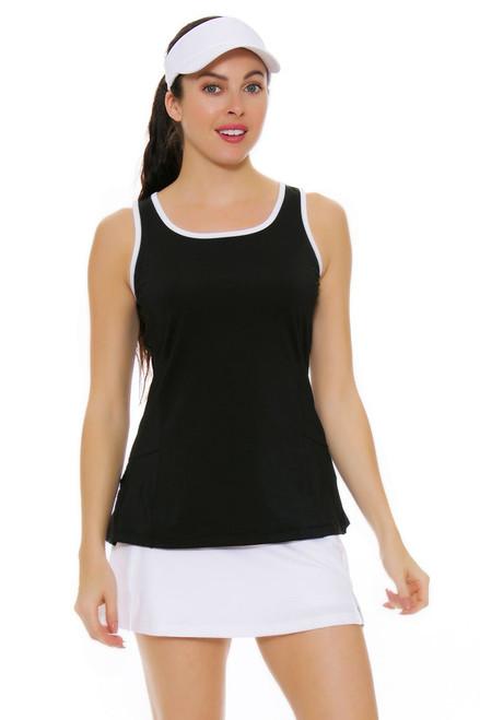 Vented White Tennis Skirt FT-TW151JE2-100 Image 4