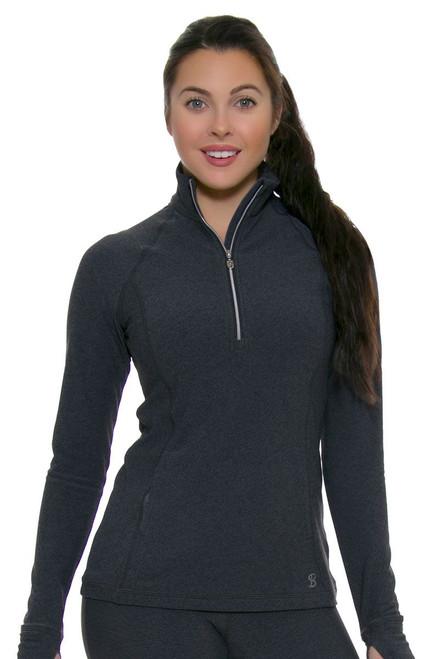 Sofibella Conquest Sofi Fleece Half Zip Long Sleeve