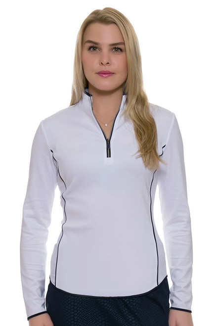 Greg Norman Piped Zip Pullover GN-G2S7K212 Image 4