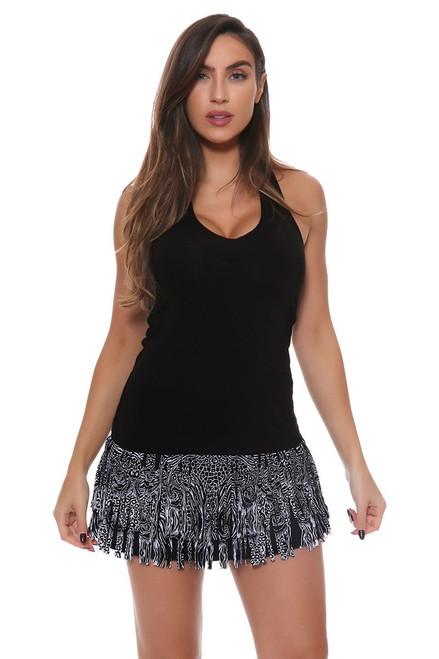 Tribal Fringe Tennis Skirt LIL-CB147-154001 Image 4