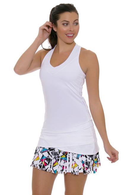 Long Shape Up Fringe Scallop Tennis Skirt LIL-CB183-233110 Image 4