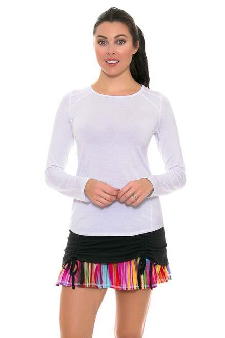 Colourfall Black Ambition Tennis Skirt TA-DFT8051 Image 1