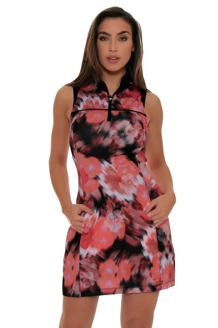 EP Sport Women's ES-Mahalo Oahu Blurred Floral Dress