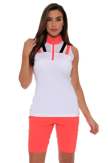EP Sport Women's Mahalo Hualalai Bi Stretch Golf Shorts ES-6208SHB Image 4
