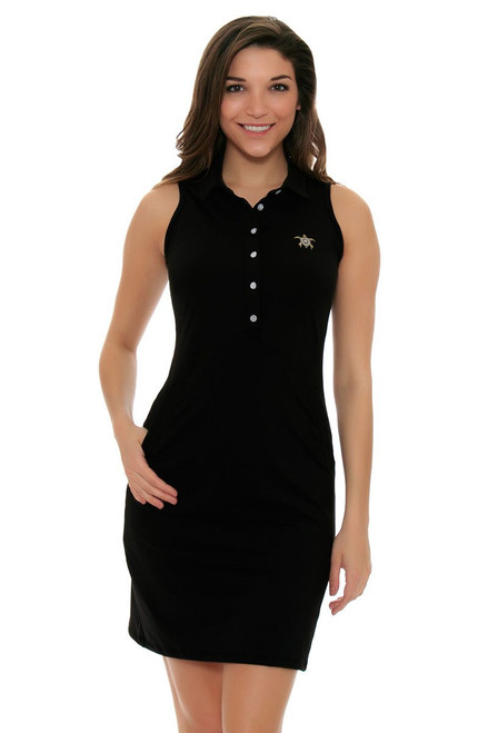 Tee 2 Sea Women's Little Black Golf Dress T2S-1110LB Image 4