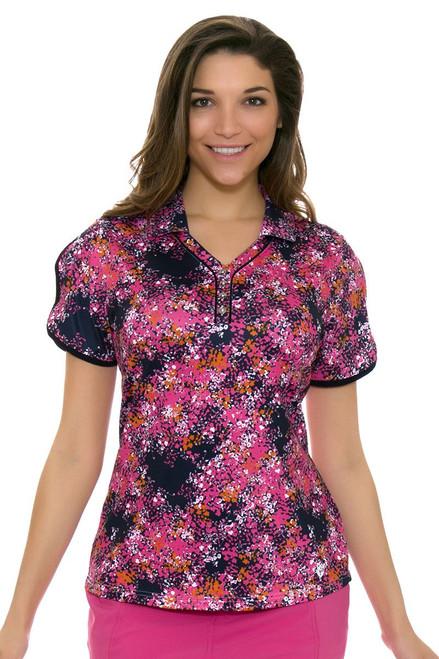 GGBlue Women's Venezuela Kat Caracas Golf Polo Shirt