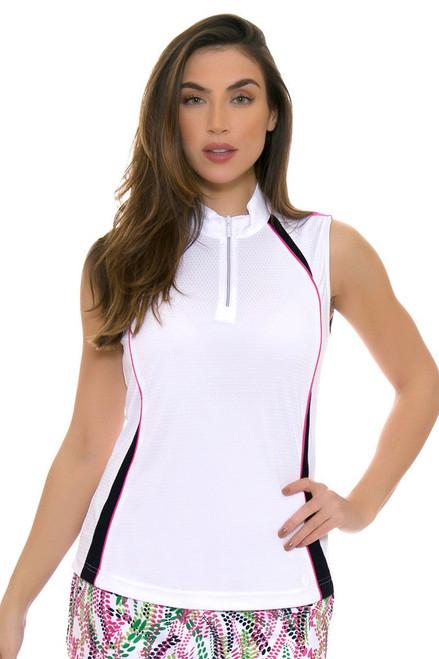 GGBlue Women's Venezuela Jolie White Golf Sleeveless GG-E1017-1712 Image 4
