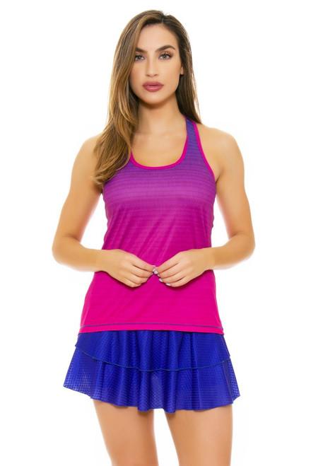 Solfire Women's Artisan Peak Persian Blue Tennis Skirt SF-F5W300-R209 Image 4