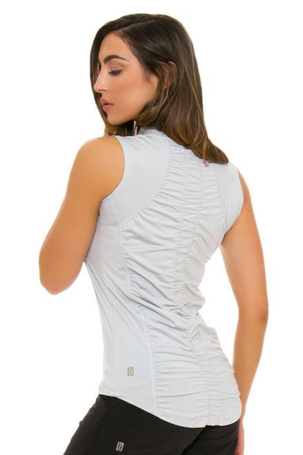 Bargray Sleeveless Grey Women's Polo | Golf or Tennis Wear