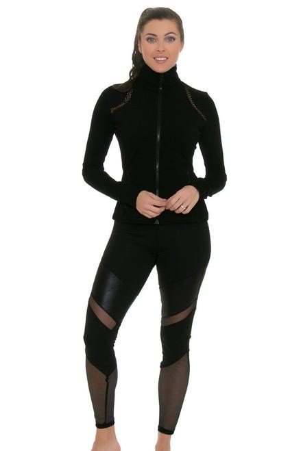 Electric Yoga Women's Spring Trendsetter Black Workout Legging EY-501507-Black Image 4