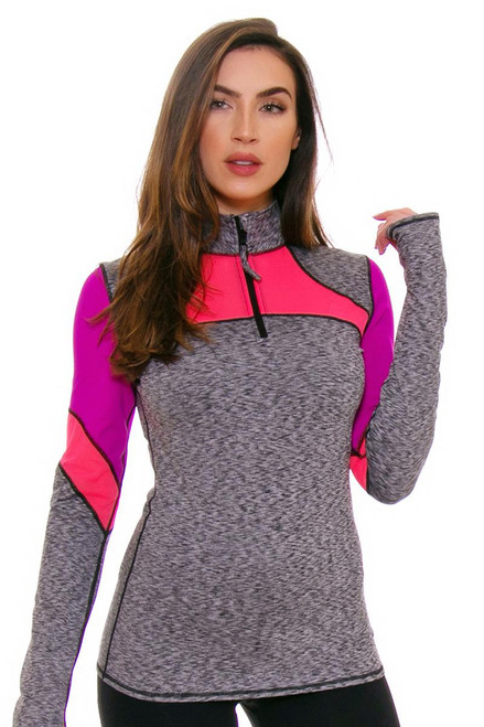TLF Women's Spring Route Ash Color Blocked Long Sleeve TLF-32005-0000-028 Image 4