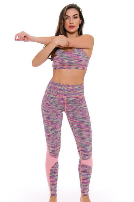 TLF Women's Spring Reverie Cake Space Dye Workout Legging TLF-36018-0000-106 Image 4