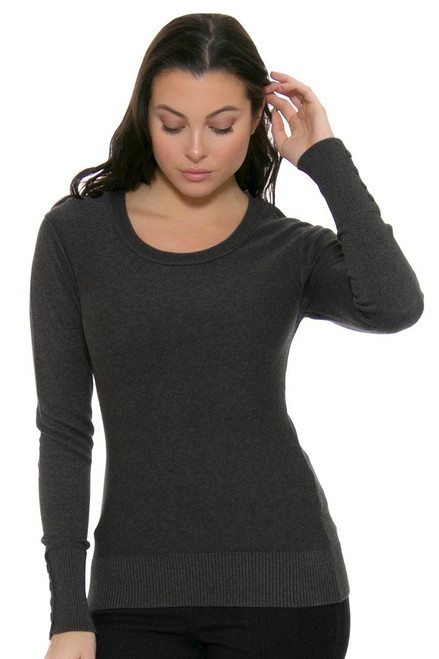 Cutter & Buck Women's Broadview Scoop Neck Sweater