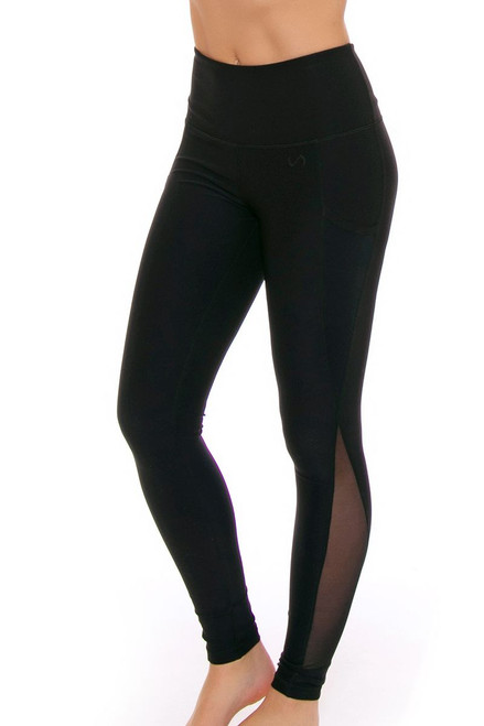TLF Women's Spring Ultra Black Workout Legging TLF-36021-0000-001 Image 4
