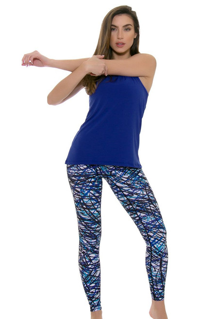 PrismSport Women's Fitspo Scribble Workout Legging PS-5021LEG-SBB Image 4