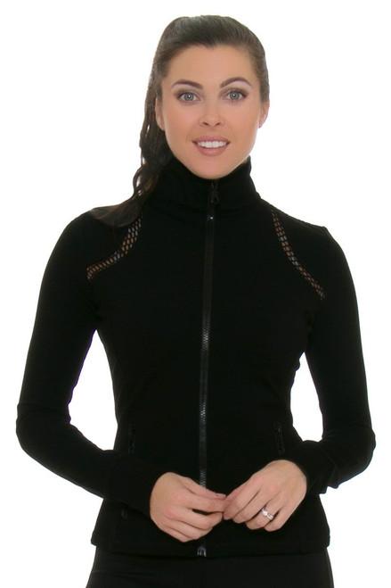 Electric Yoga Women's Spring Fishers Black Jacket EY-501204-Black Image 4