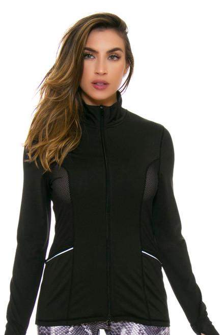 PrismSport Women's Laser Training Black Jacket PS-3100LAS-BLK Image 4