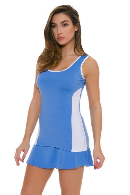 Redvanly Women's Gates Blue Tennis Skirt RV-3363 Image 4