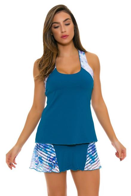 Denise Cronwall Women's Trista Teal Grace Tennis Skirt DC-SK-420-TRT Image 4