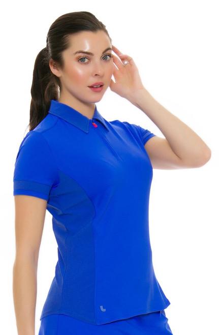 Lole Women's Spring Jordan Dazzling Blue Golf Polo Shirt LO-LSW2188-B194 Image 4