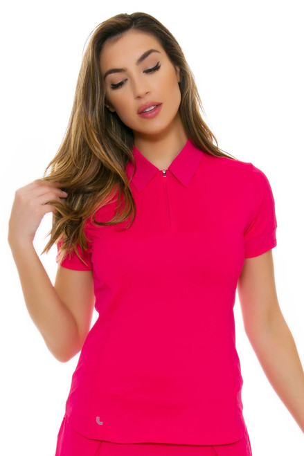 Lole Women's Spring Jordan Tropical Rose Golf Polo Shirt LO-LSW2188-K423 Image 4
